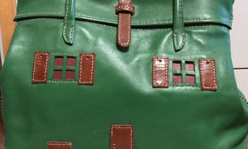 デザインバッグの染め直し修理受付致しました!ベストリペア梅田店